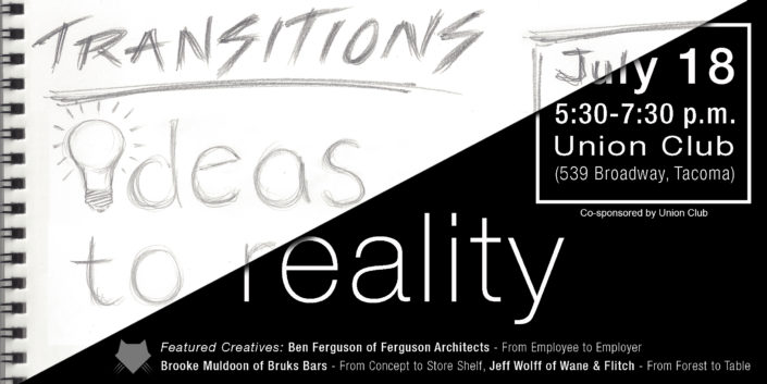 Transitions: Ideas to Reality Recap
