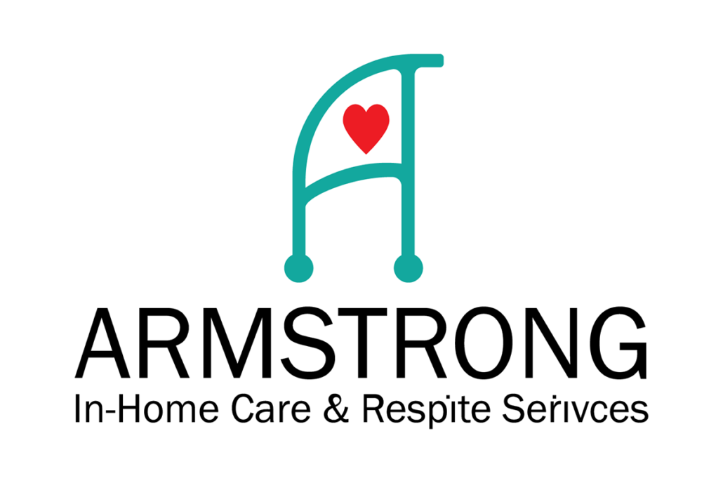 Armstrong Home Care and Respite Services logo redesign by Tamara, Hanks Design