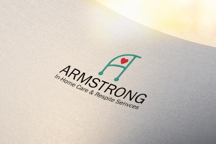 Armstrong Home Care and Respite Services logo redesign by Tamara, Hanks Design