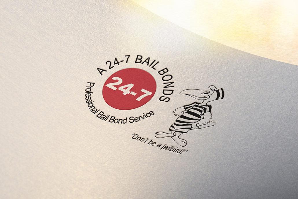 A 24-7 Bail Bonds original logo